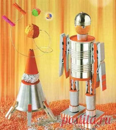 Поделки ко Дню космонавтики 2021. Подборка идей на 12 апреля для детского сада и школы