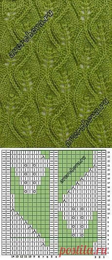 Схемы вязания спицами и крючком | VK