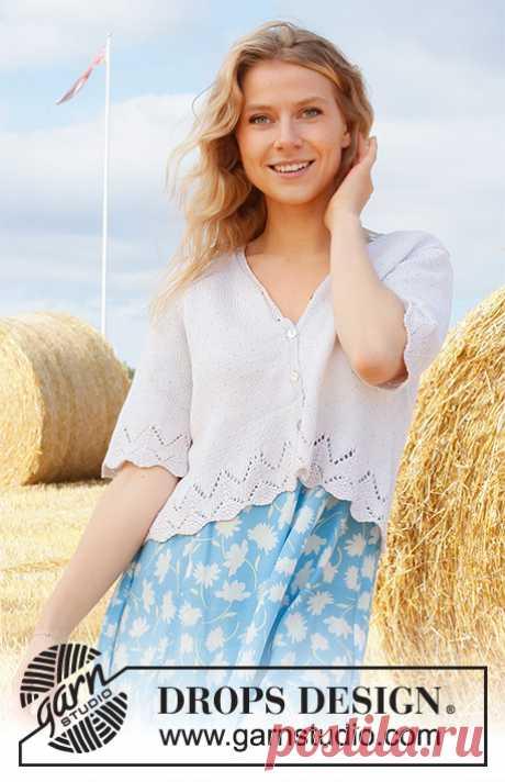 Жакет Summer Land - блог экспертов интернет-магазина пряжи 5motkov.ru