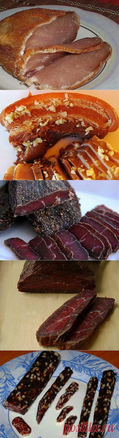 Мясная тарелка - пошаговые фото, рецепты....в конце поста.......ВЯЛЕНОЕ мясо рецепты (подробные) приготовления