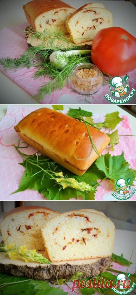 Хлеб сметанный с начинкой - кулинарный рецепт