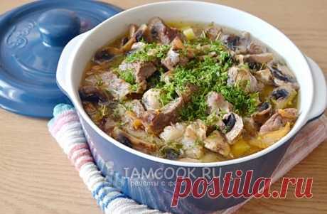 Жаркое из свинины с картошкой в духовке — рецепт с фото пошагово. Как приготовить жаркое из мяса с картошкой?