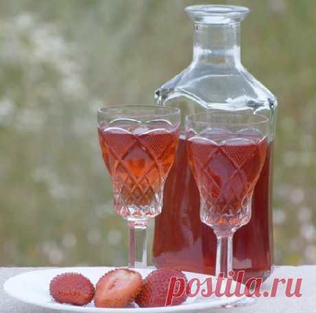 Home-made strawberry liqueur – the recipe and technology of preparation