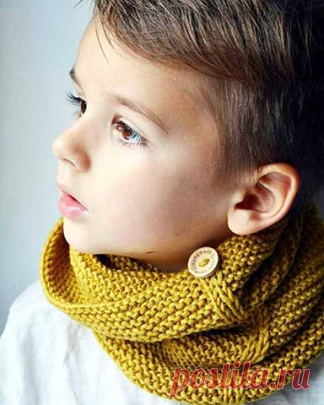 Снуд спицами для мальчика. Схемы вязания с описанием, новинки, мастер-класс для начинающих пошагово. Видео, фото