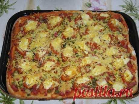 Как приготовить пицца из дрожжевого теста – классический рецепт - рецепт, ингридиенты и фотографии