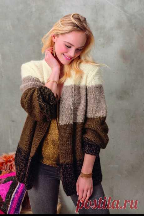 Подборка вязанных моделек от 4 апреля. Описания и схемы (спицы) | knitting_in_trendd | Яндекс Дзен