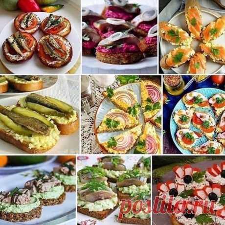 Домашние лайфхаки 💡 в Instagram: «Варианты бутербродов на Праздничный стол 😋😘 . Друзья, кому не сложно, оставьте 1 цветочек 🌹🌺🌸🌼🌻🌷💐 в коментах, чтобы я вас всех видела…»