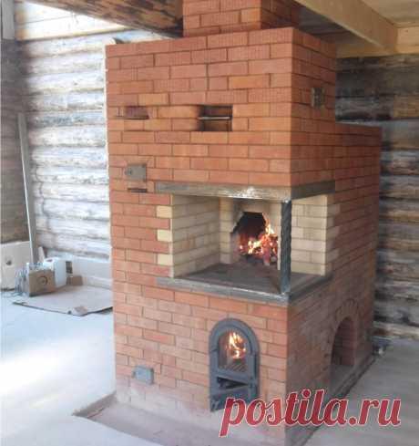Русская печь экономка: порядовка и подробная схема