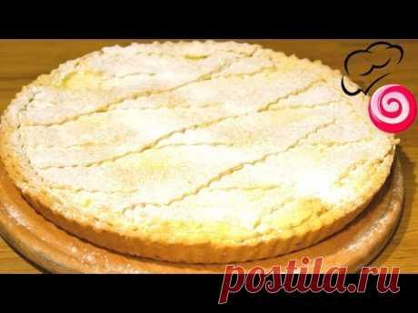 Пирог с лимонным кремом 🍋 КАК ТОРТ