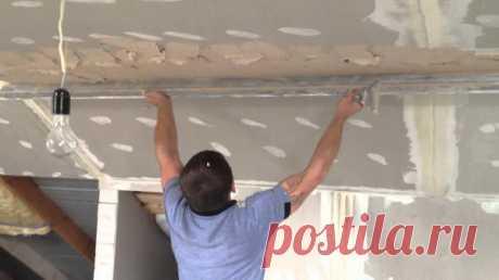 Как сделать потолки идеально ровными без лишних переплат