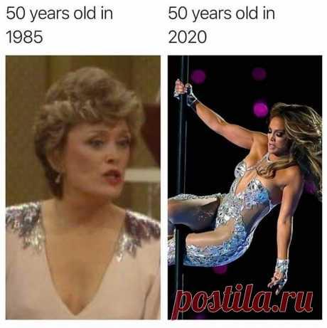 50 лет мне в 2020 году