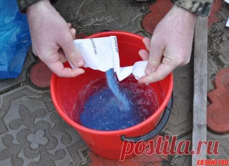 Como hacer el líquido de Burdeos