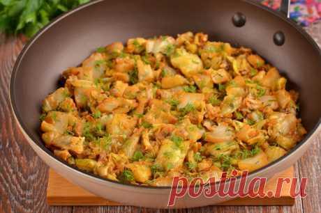 Как только в магазинах появляется молодая капуста, готовлю это блюдо (очень вкусно и быстро) | Совет да Еда | Яндекс Дзен