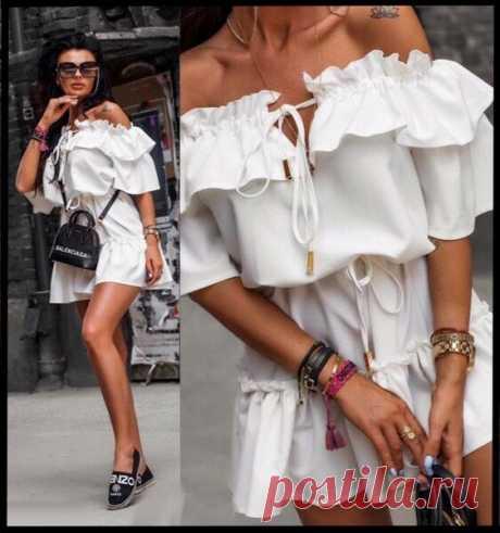 Цвет платья - белый! 5 топовых моделей этого лета! | Я Мода | Яндекс Дзен