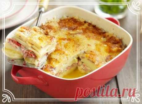 Запеканка с рыбой и картофелем   Ингредиенты:  Филе рыбы — 500 гр.  Картофель — 1 кг.  Показать полностью…