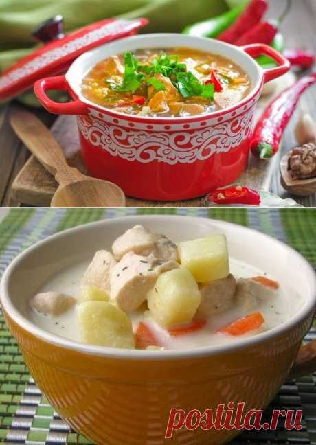 Супы - Каталог рецептов - Вкусные рецепты