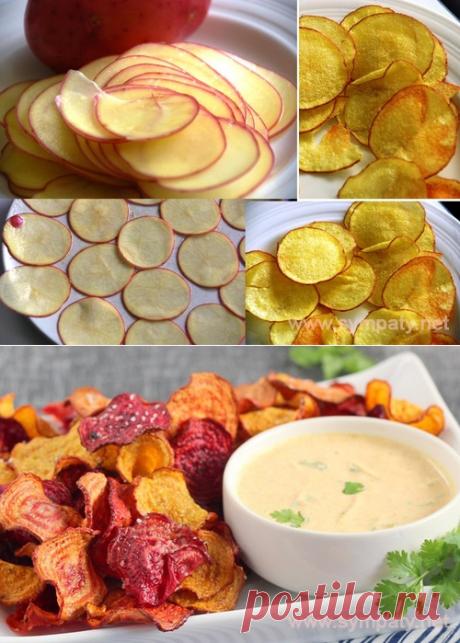 Как приготовить картофельные чипсы в микроволновке - Электронный журнал «Женщина Москва»