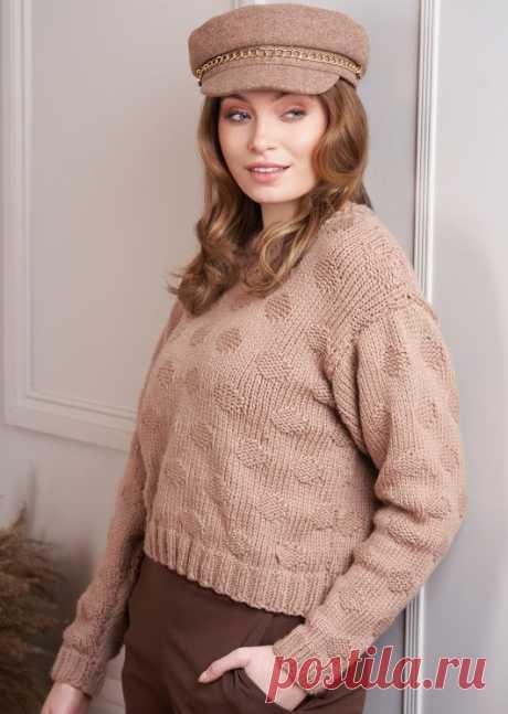 Вязаный пуловер Sadie