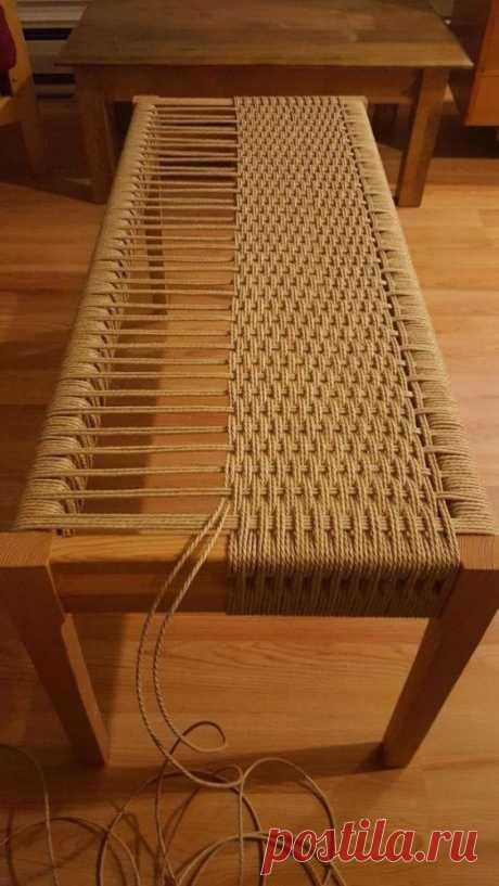 Плетеная мебель своими руками (подборка мастер-классов) / Мебель / ВТОРАЯ УЛИЦА