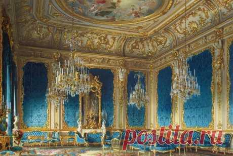 Роскошные апартаменты самого богатого российского банкира XIX века, запечатленные в акварели