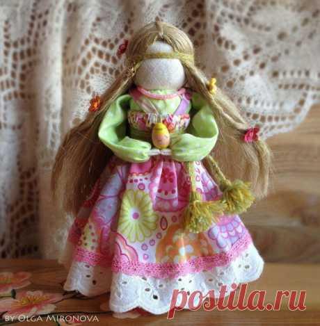 Текстильная игрушка-оберег Текстильная игрушка-оберегТекстильная игрушка-оберег это не только творчество, но и прикосновение к народной магии.