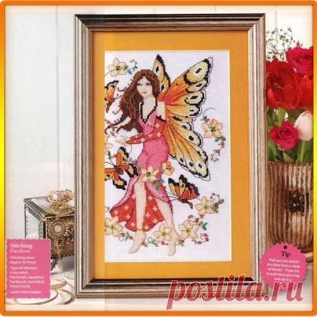 Цветочная фея в стиле фэнтези