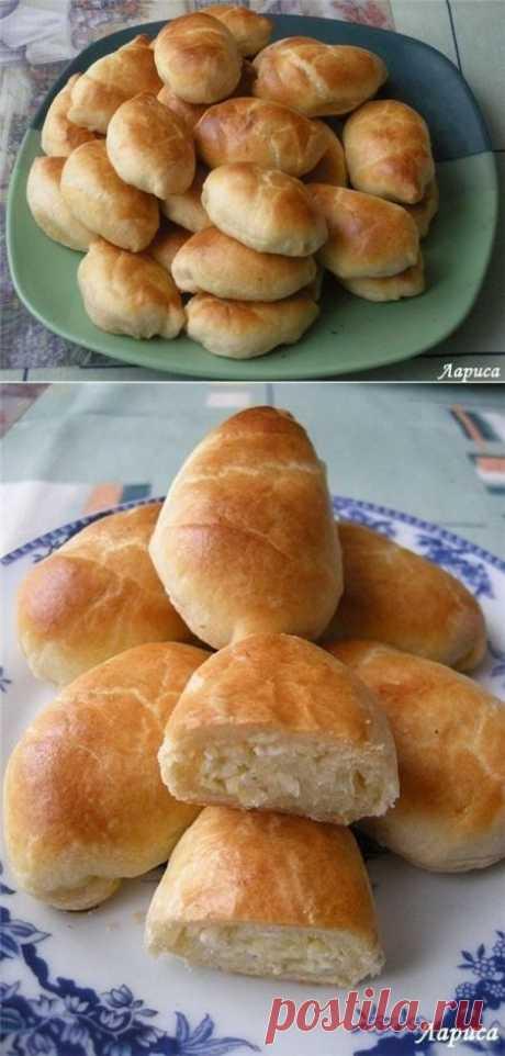 Пирожки с капустой.