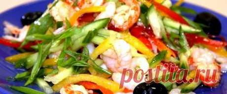 Салаты из овощей диетические рецепты