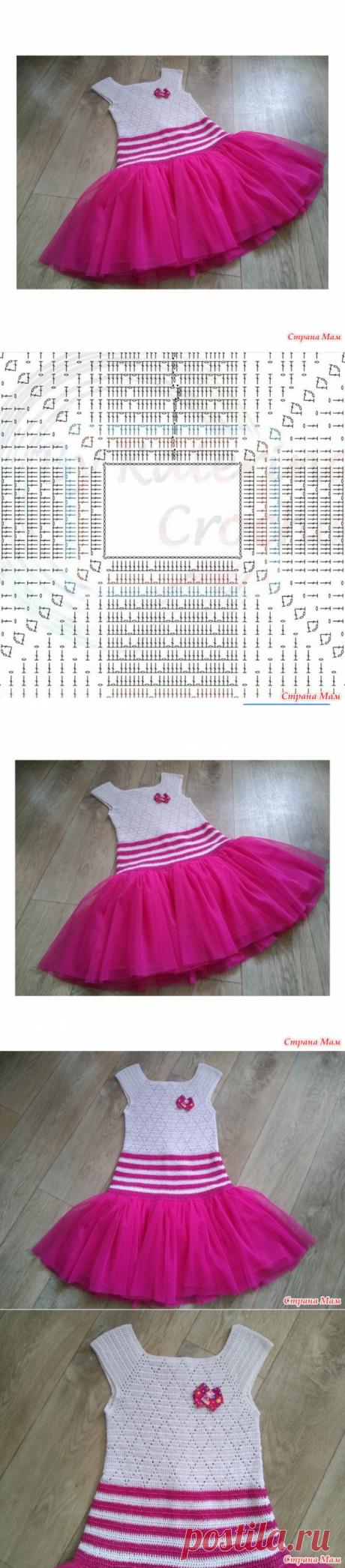 """Платье """"Маленькая фея"""" - Вязание - Страна Мам"""