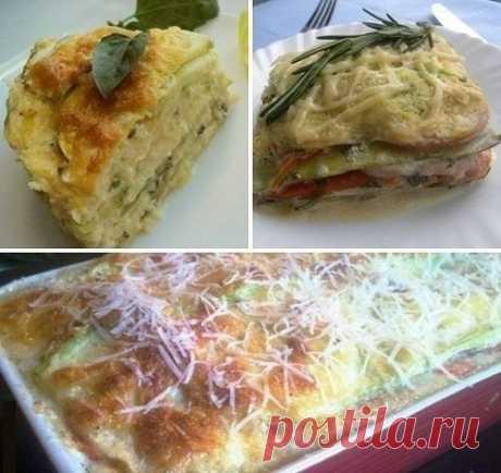 Лазанья из кабачков (обед или ужин)