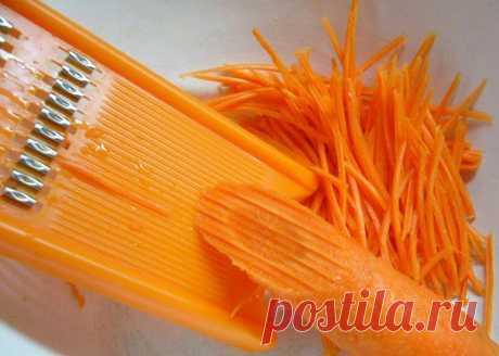 Как приготовить идеальную морковь по-корейски? — Готовим дома