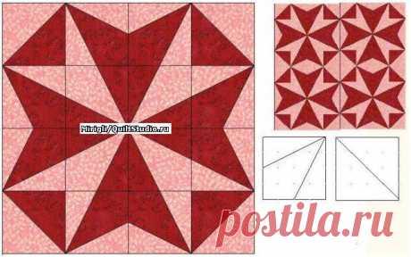 Разрезаем квадраты из разных тканей. Пэчворк, Лоскутное шитье,