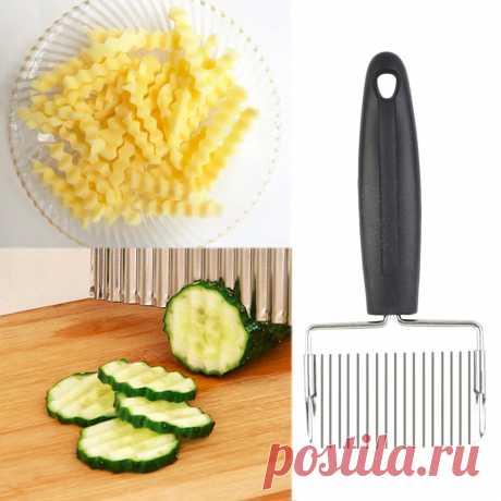 Принадлежности для приготовления пищи портативное устройство для волнистой нарезки картофеля слайсер кухонные тесто ножи устройство резки овощей и фруктов Аксессуары Для Приготовления Пищи Инструменты кухонный гаджет|Запчасти варочной панели| | АлиЭкспресс