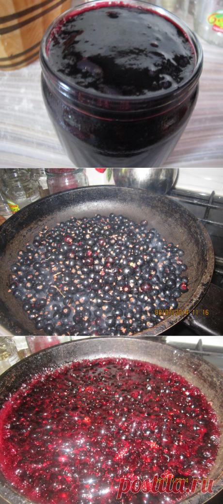 Жареное смородиновое варенье и вишневое | Четыре вкуса