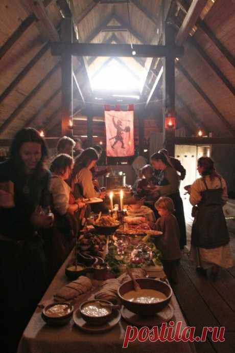 древняя столовая
