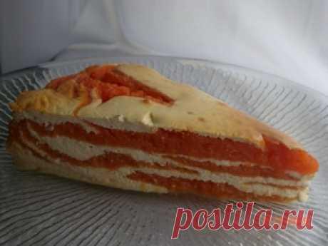 El tostado tvorozhno-de calabazas la Ambrosía la receta con las fotografías