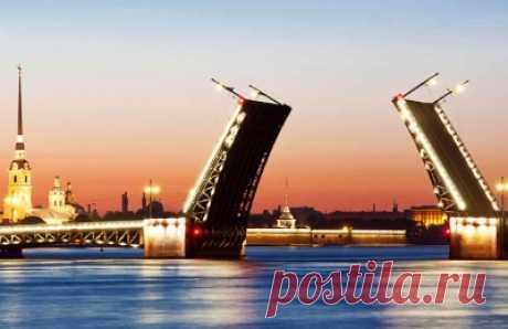 Символы Петербурга: белые ночи и разводные мосты Пожалуй, самыми главными символами Санкт-Петербурга являются знаменитые белые ночи и разводные мосты. И путешественники стремятся приехать в город на Неве именно