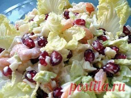6 салатов с ПЕКИНСКОЙ КАПУСТОЙ — Вкусные рецепты