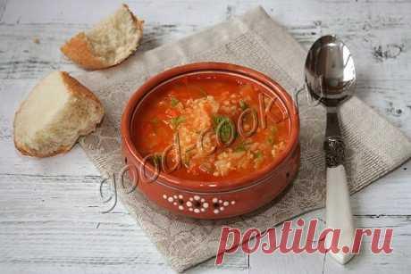 """Суп  """"капустняк"""" на свежей капусте. Рецепт приготовления."""