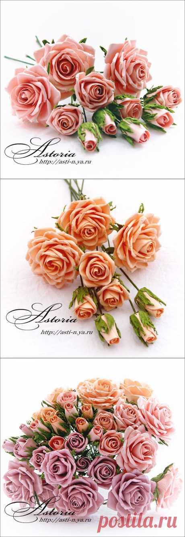 Умопомрачительные розы из бумаги