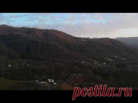 Достопримечательности Сочи - Начало реки Сочи (съемка с квадрокоптера)