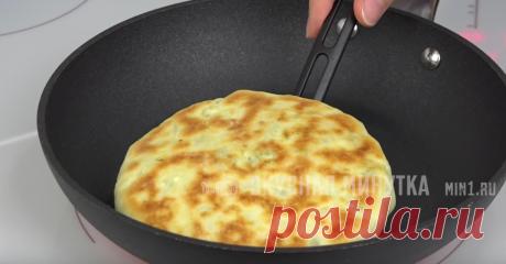 Лепешки с начинкой на сухой сковороде: пеку двойную порцию и часть замораживаю (останется лишь разогреть) | Кухня наизнанку | Яндекс Дзен