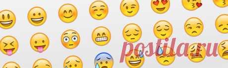 Все смайлики ВКонтакте - Emoji VK