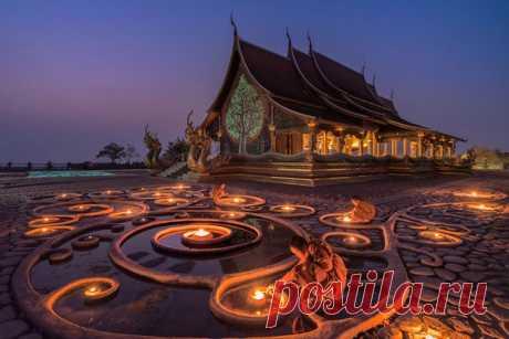 Буддийский храм в Мьянме