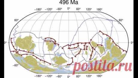Учёные воссоздали модель движения тектонических плит. Миллиард лет за 40 секунд.