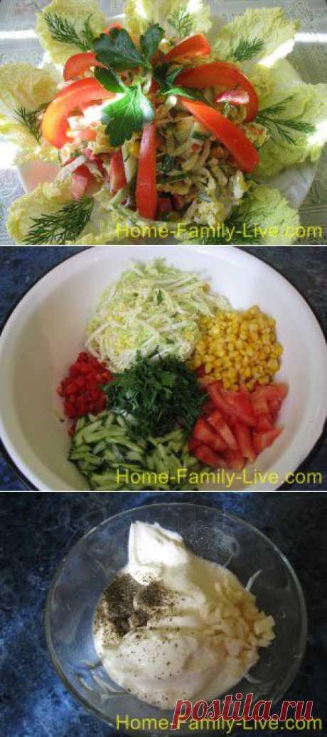 из пекинской капусты - пошаговый фоторецепт