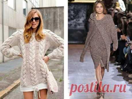 Вязаные Женские Платья для Стильных Леди - 2020 / Knitted Women's Dresses for Stylish Ladies