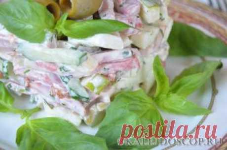 Салат по-швейцарски - кулинарный рецепт | Калейдоскоп