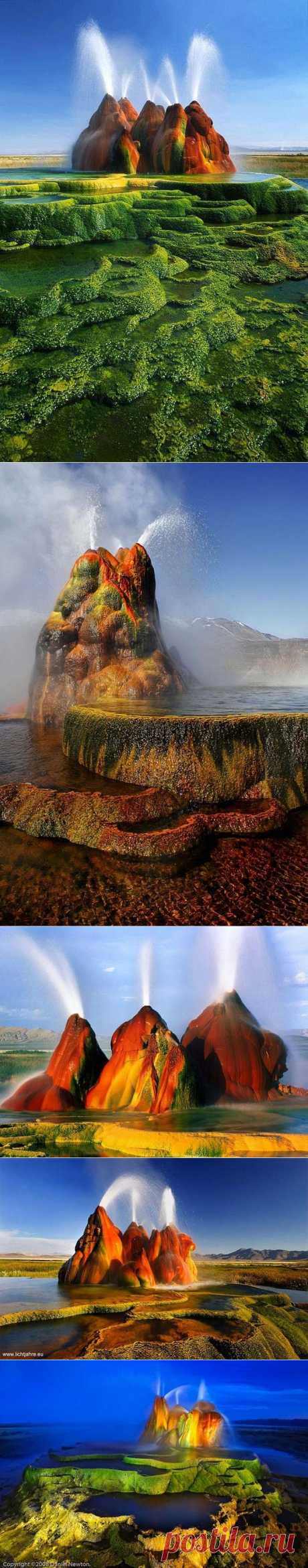 Geyser Fly - a nature miracle   In the world interesting