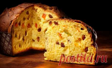 Итальянский чудо-рецепт изумительного кекса «Панеттоне»